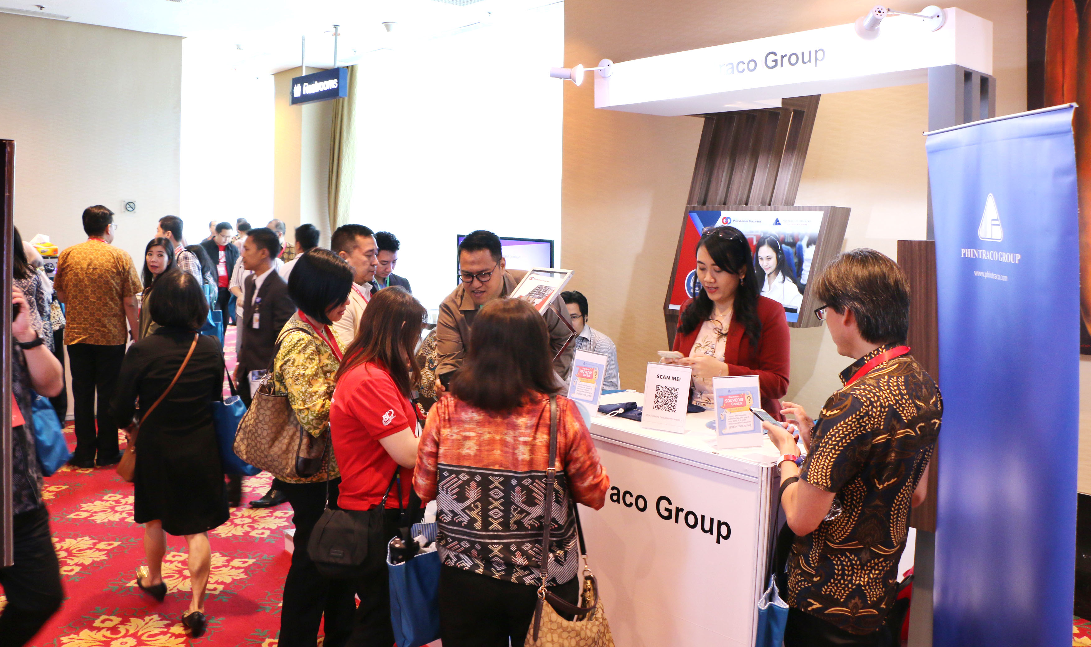 "Supporting Business Growth in Today's Digital Era, Phintraco Group Participates in ""Indonesia Knowledge Forum VIII"""