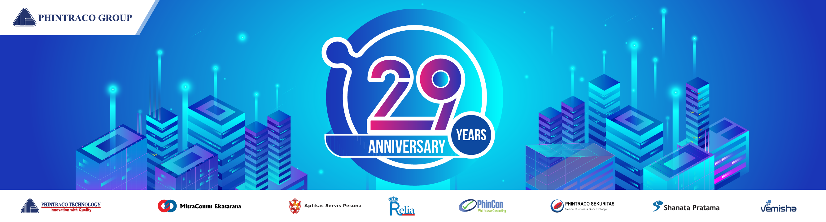 Happy 29th Anniversary, Phintraco Group!