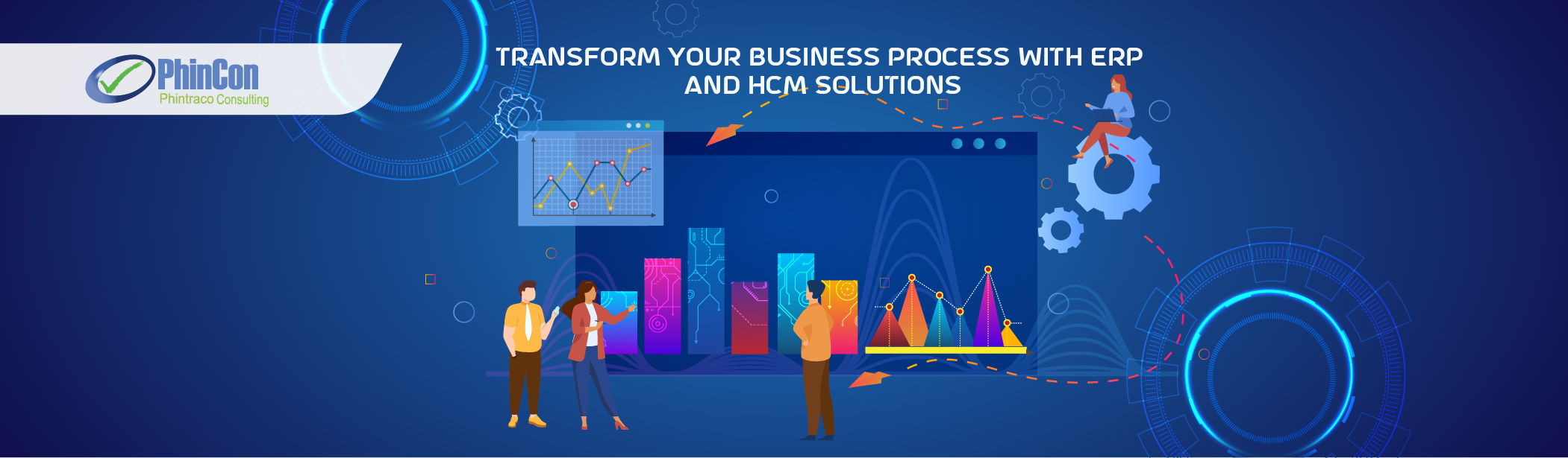 Transform Your Business Processes with ERP and HCM Solutions