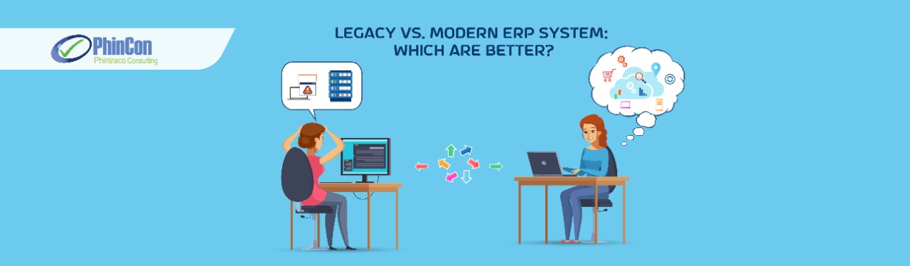 Modern ERP and Traditional ERP