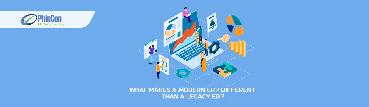 What Makes a Modern ERP Different from a Traditional ERP
